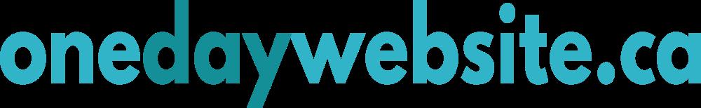 OneDayWebsite.ca Logo